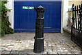 J5252 : Old boundary post, Killyleagh by Albert Bridge