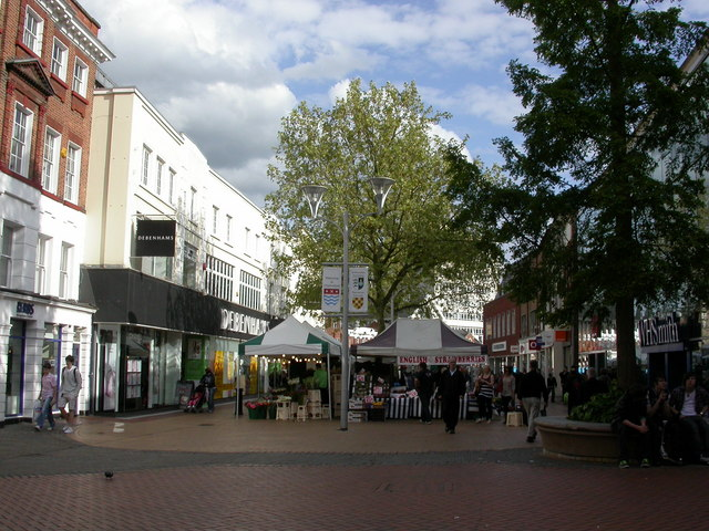 Chelmsford Street Market Mike Faherty Geograph Britain And Ireland