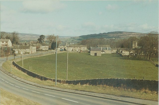 The B6277 to Romaldkirk in 1984