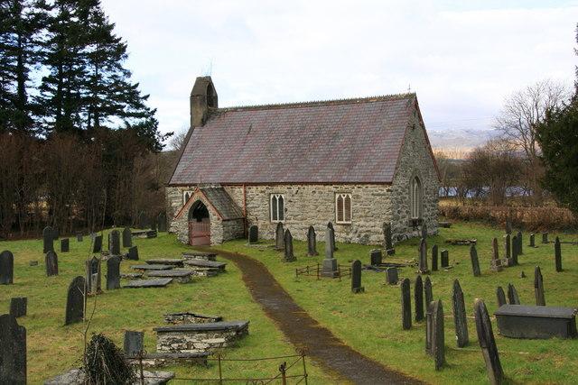 Kirken St Cywair's i Llangower