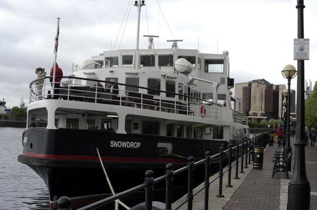 Mersey ferry Snowdrop