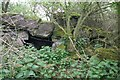 SU4199 : Destroyed pillbox by Bill Nicholls