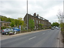 SE0026 : Calder Terrace, Burnley Road, Mytholmroyd by Alexander P Kapp
