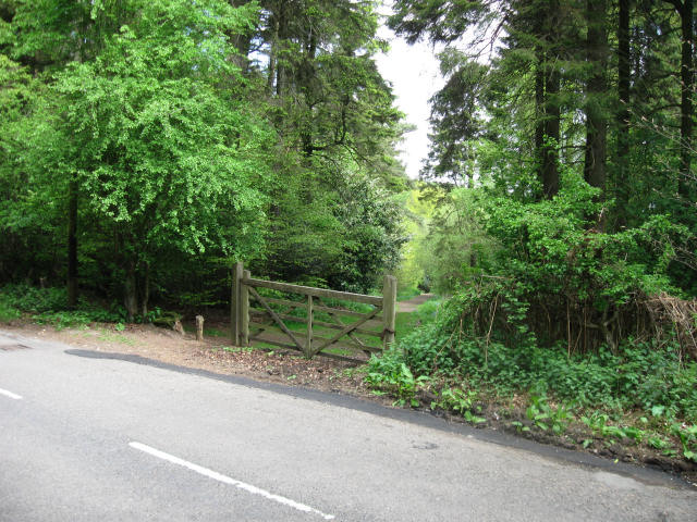 Lower entrance to Lickey Hills Country Park