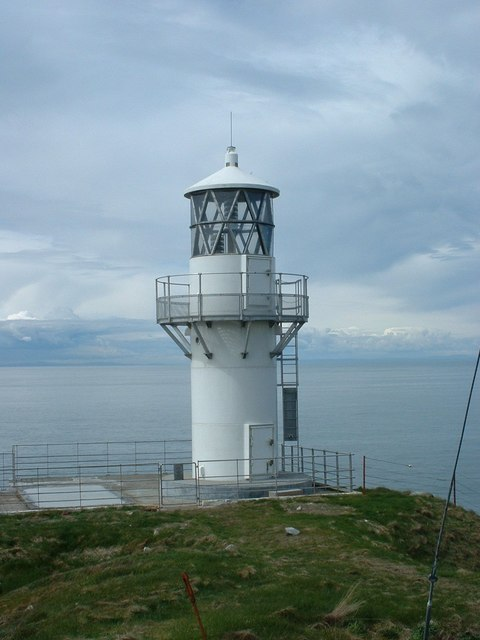 New lighthouse at Crammag Head