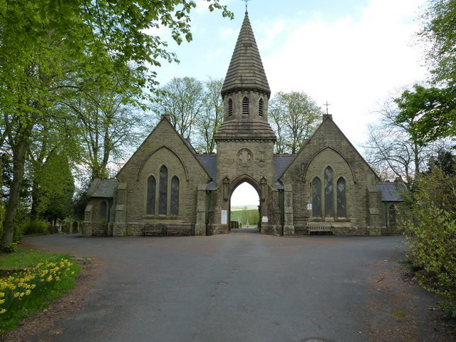 Buxton Cemetery entrance