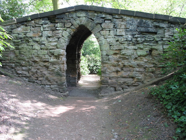 Nostell Priory Gothic Arch