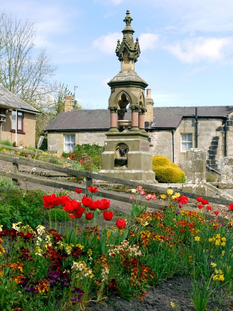 Clennell Memorial Fountain Harbottle 169 Andrew Curtis