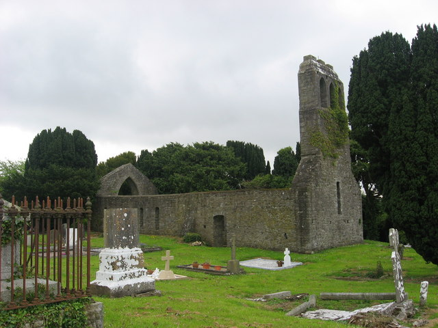 Medieval Church at Ballyboughal, Co. Dublin