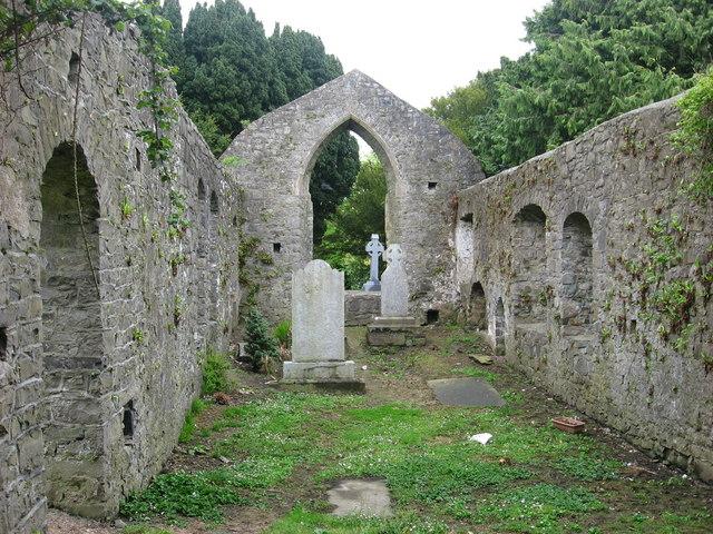 Medieval Church at Ballyboughal, Co. Dublin