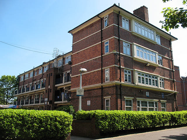 St Mary's estate, Rotherhithe