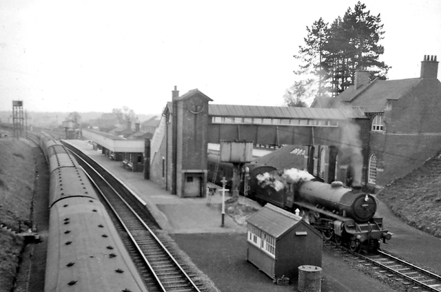 Brackley Central Station With Train 169 Ben Brooksbank Cc