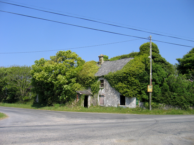 Ruin at the crossroads, Graigue Little, Co. Wexford