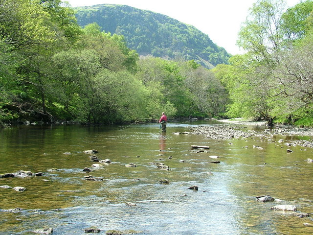 River Wye fly-fishing