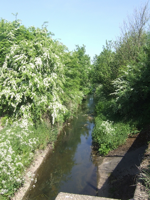 Ford Brook upstream of Harden Road