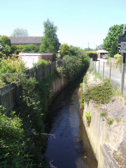 Ford Brook downstream of Pelsall Road