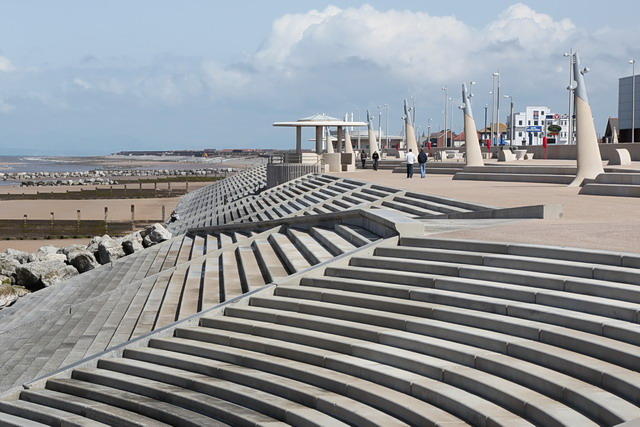 Revetment Steps And Promenade Cleveleys 169 Rob Noble Cc By