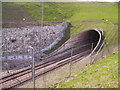 TQ7560 : Southern portal of North Downs Tunnel by Kenneth Yarham