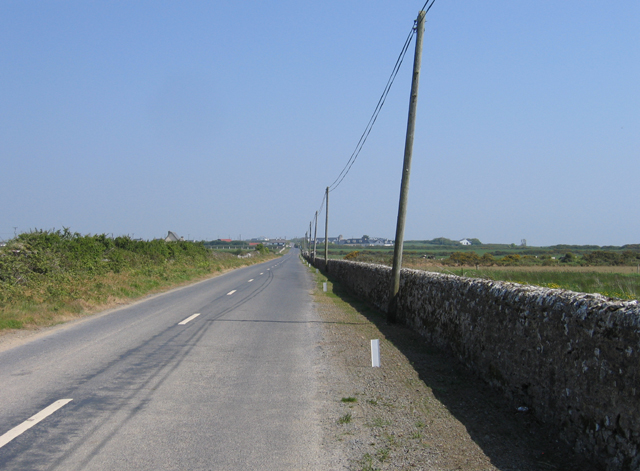 The road from Hook Head towards Fethard, Co. Wexford