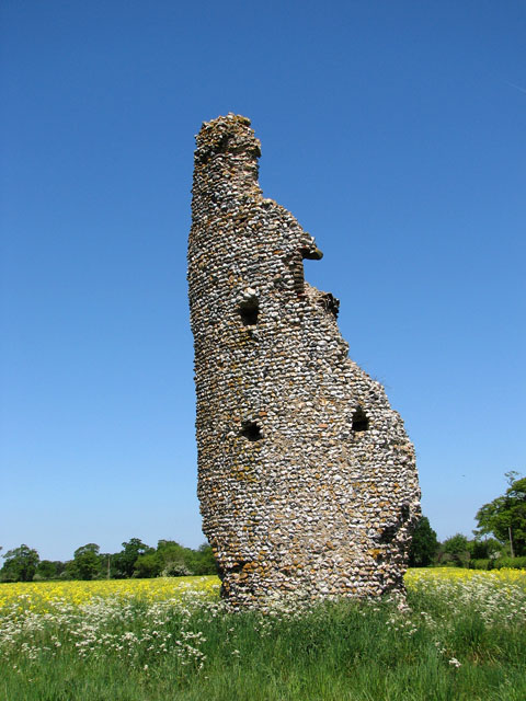 The ruined church of St Mary, Thorpe Parva