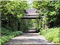 SD7302 : Disused Railway, Park Road Bridge by David Dixon