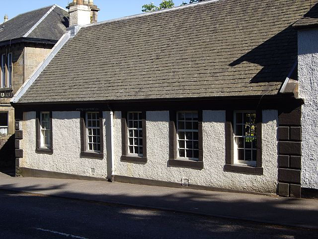 Weavers' cottages, 50 Montgomery Street