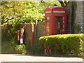 ST6805 : Buckland Newton: telephone box by Chris Downer
