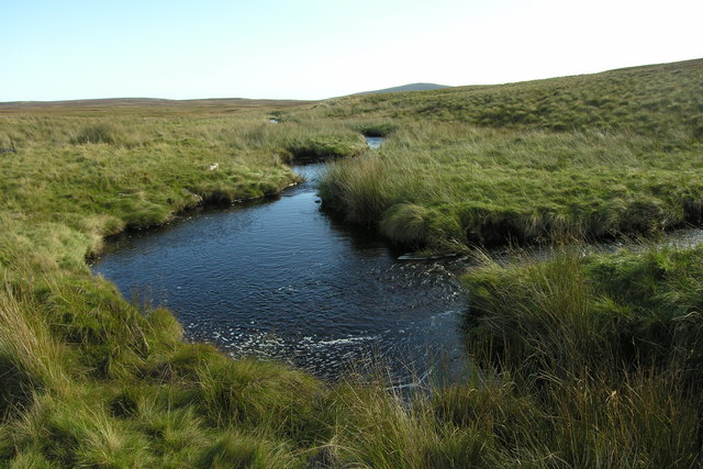 Looking down the Raffin Burn