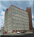 TA2709 : Grimsby Telephone Exchange, Upper Burgess Street by David Wright