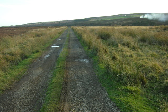 Hill track above Dunbeath Water