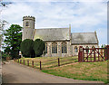TL7789 : St Mary's church in Weeting by Evelyn Simak