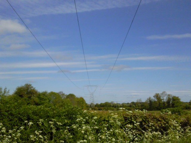 Overhead Wires, Co Meath © C O\'Flanagan :: Geograph Ireland