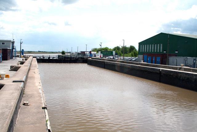Goole Docks Ocean Lock Dr Neil Clifton Geograph