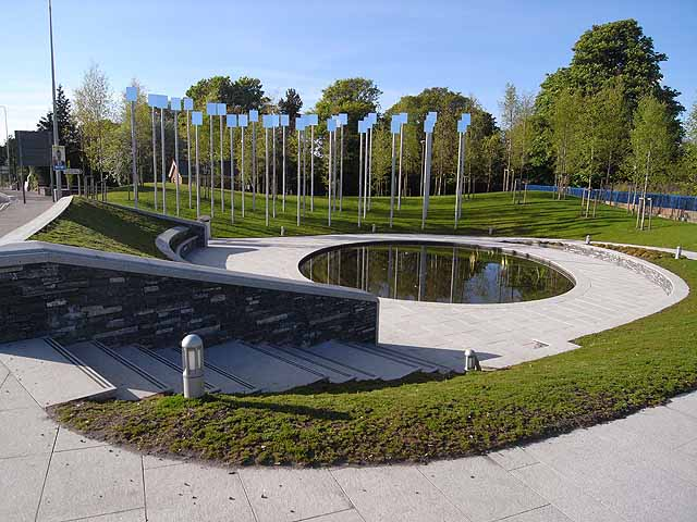 Omagh Bomb Memorial Gardens Oliver Dixon Cc By Sa 2 0 Geograph Ireland