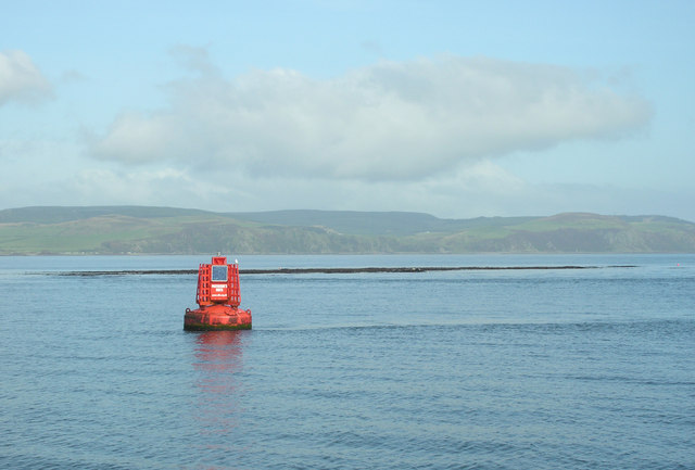 Paterson's Rock and its navigation buoy