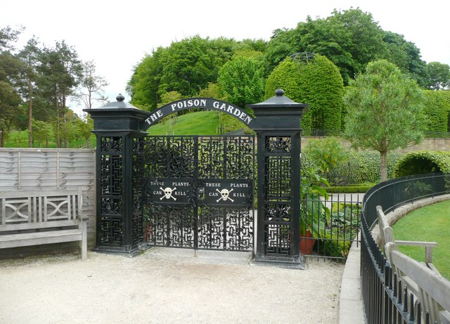 Entrance to the Poison Garden, Alnwick Garden