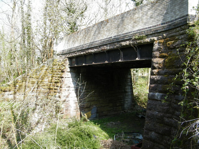Road bridge over Barry Railway near Creigiau.