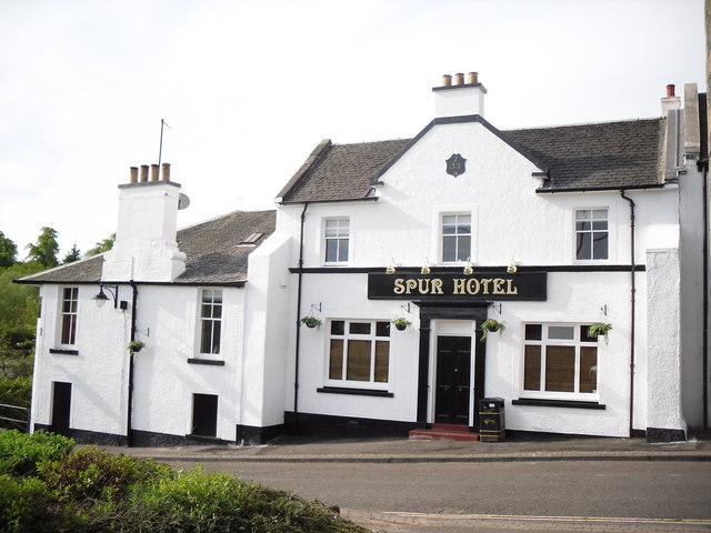 Spur Hotel Stevie Spiers Geograph Britain And Ireland