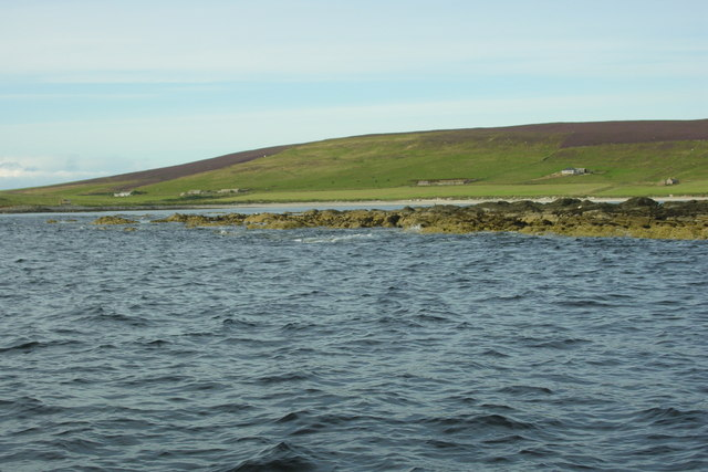 Seal Skerry, West coast of Eday
