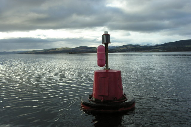 Cullicudden navigation buoy, Cromarty Firth