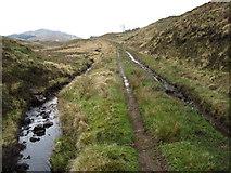 NM5864 : Track towards Glenborrodale by Chris Wimbush