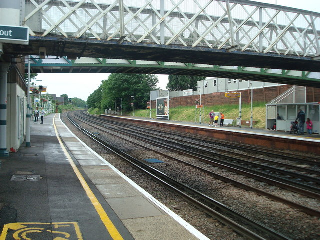 Brockley railway station