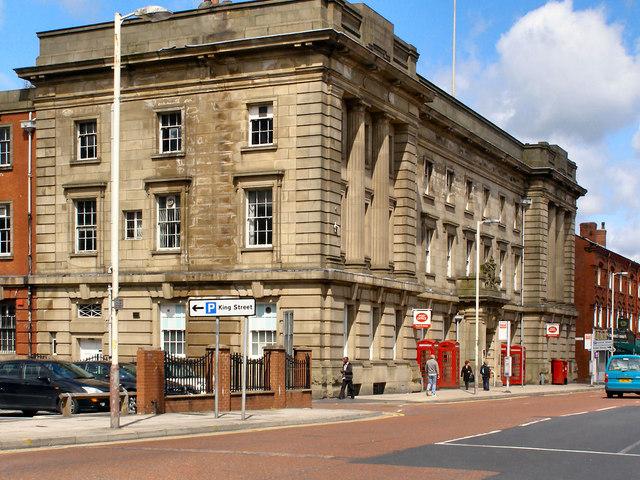 Bolton main post office david dixon geograph britain and ireland - Great britain post office ...
