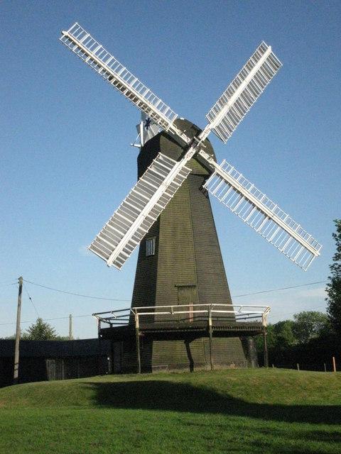 Davison's Mill. Stelling Minnis