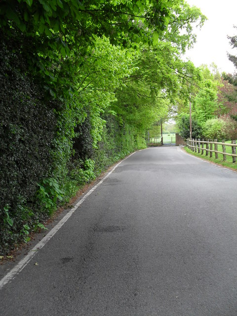 Far end of Cudham Lane