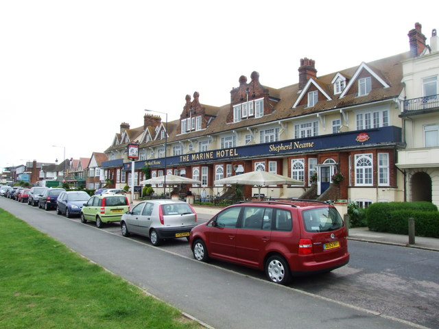 The Marine Hotel, Tankerton
