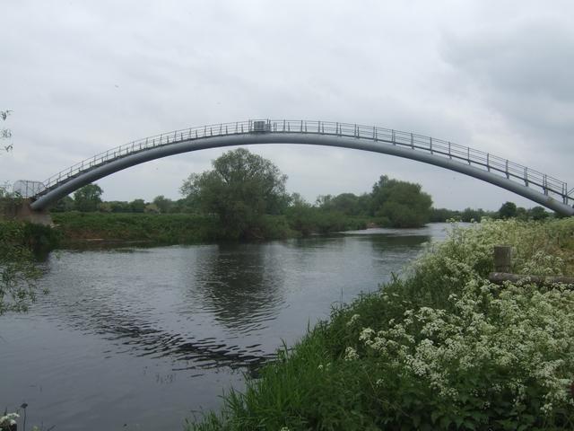 Pipe Bridge over the River Trent