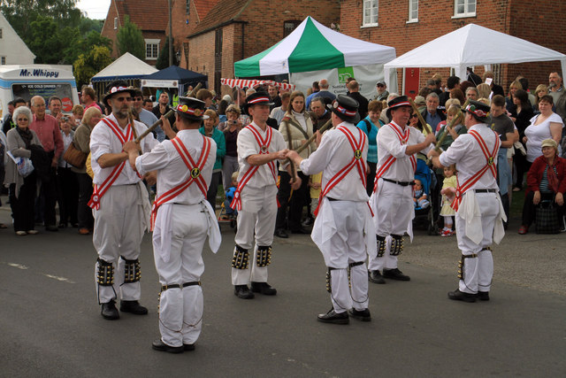 The Adelaide Morris Men in Wellow