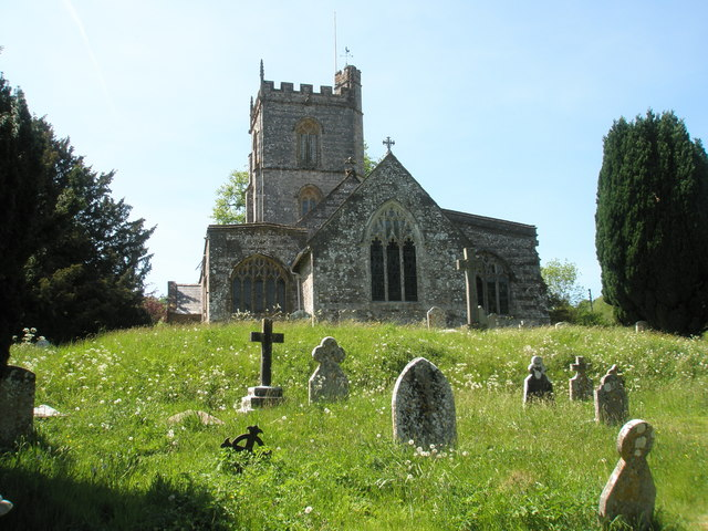 Churchyard, All Saints Hilton (2)