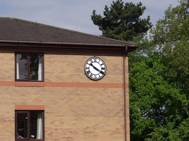 Clock outside the Convent